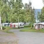campingvogner med fortelt