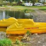 tråbåter på biristrand camping