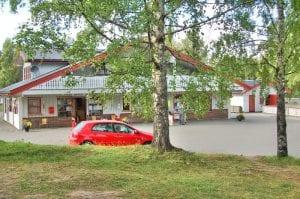 resepsjon og utleie på biristrand camping