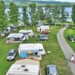 campingplassen er finest på sommeren