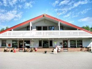 resepsjon båter kiosk og butikk