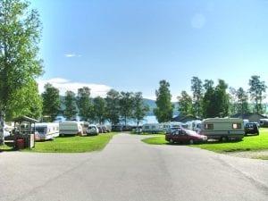 camingplassen på biristrand camping